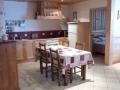 Le Corty, cuisine et séjour